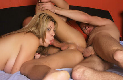 Melissa Hot MMF Threesome