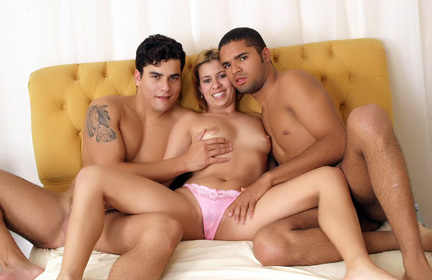 sexy Threesome Bisexual Tease
