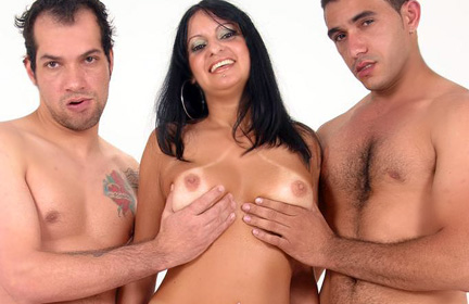 race MILF Bisexual Threesome